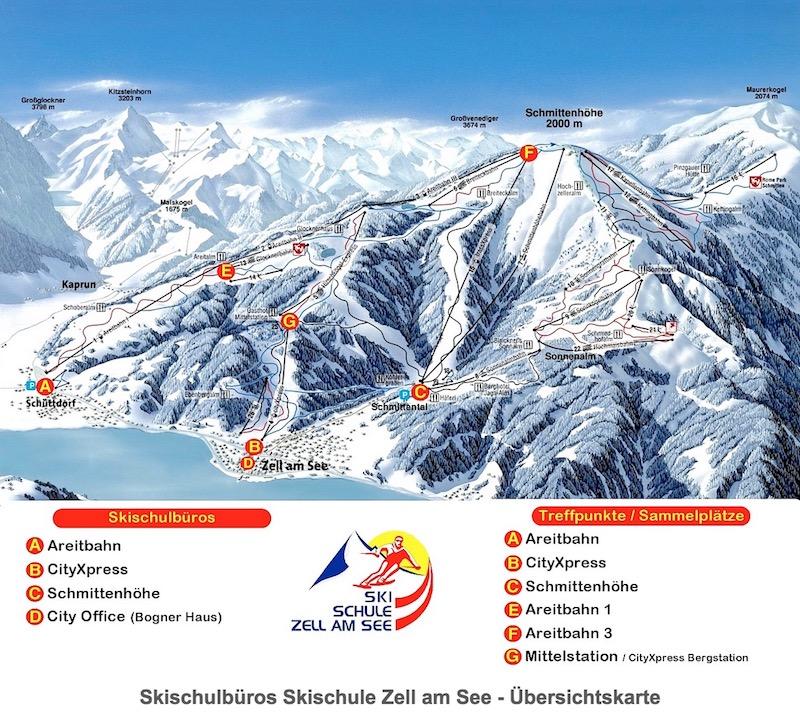 Büros der Skischule Zell am See