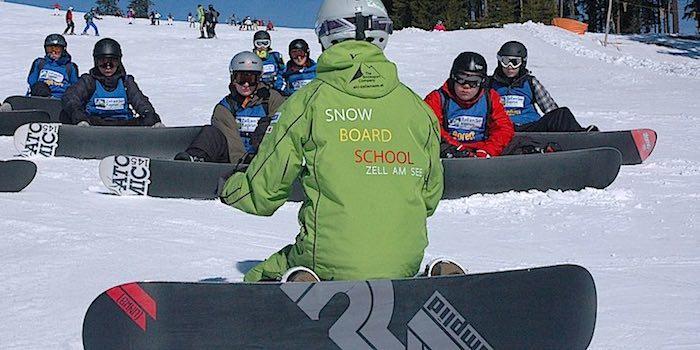 Snowboardschule-Zellamsee